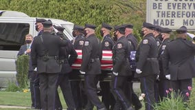 Sgt. James O'Connor laid to rest in Northeast Philadelphia