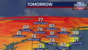 Weather Authority Warm Tuesday with mix of sun and clouds