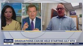 NJ to allow graduation ceremonies beginning July 6