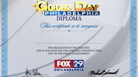 Honor your grad with a Good Day Philadelphia Diploma!