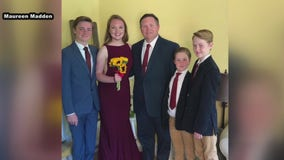 Northeast Philadelphia family holds prom for daughter in living room