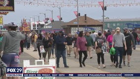 Social distancing measurements being taken for Memorial Day weekend down the shore