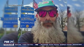 Man runs around perimeter of Philadelphia during COVID-19 pandemic