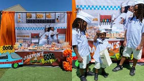 3-year-old's 'Good Burger' birthday theme is a flashback to the 90's