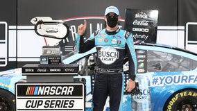 Harvick wins at Darlington as NASCAR returns to racing
