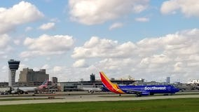 Police: Man found on Southwest Airlines plane during pre-flight check at PHL