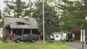 SWAT standoff ends with man dead after setting off explosives in Bucks County home
