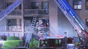 3 hurt after 2-alarm fire at apartment building in Lower Merion Township