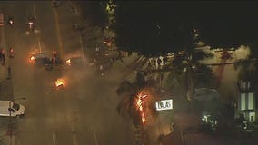Curfew issued for all of Los Angeles as Mayor Garcetti urges protesters to stop the violence