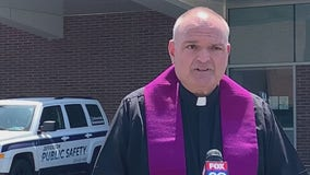 FOP chaplain visits hospitals, organizes blood drives during COVID-19 pandemic