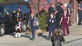 Fire and EMS salute hospital staff at Abington Hospital-Jefferson Health