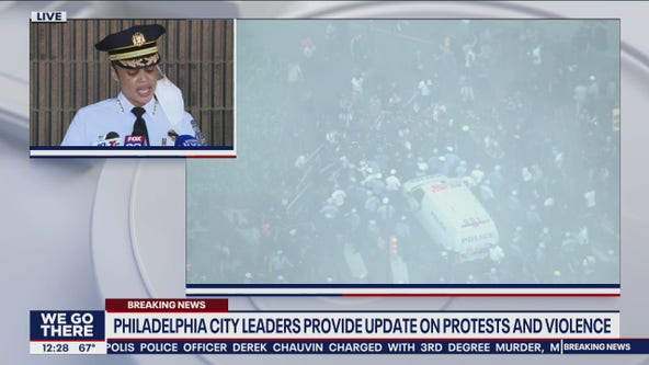 Philadelphia city leaders provide update on protests, violence