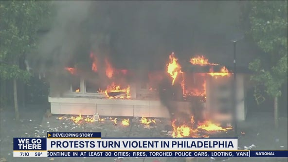 Peaceful protests turn violent leading to injuries, arrests in Philadelphia