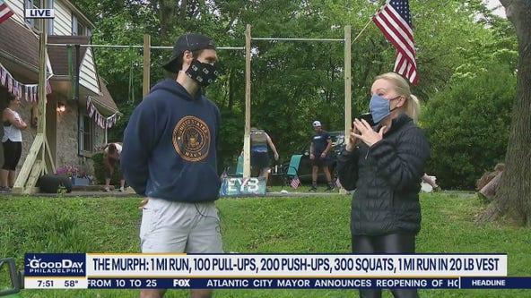 Murphy Challenge honors fallen Navy SEAL, benefits charities