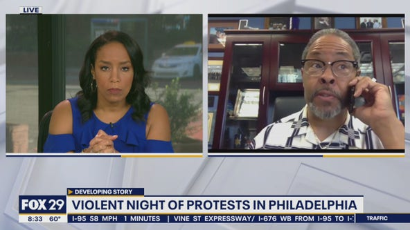 Religious leader advocates peaceful protest after riots in Center City