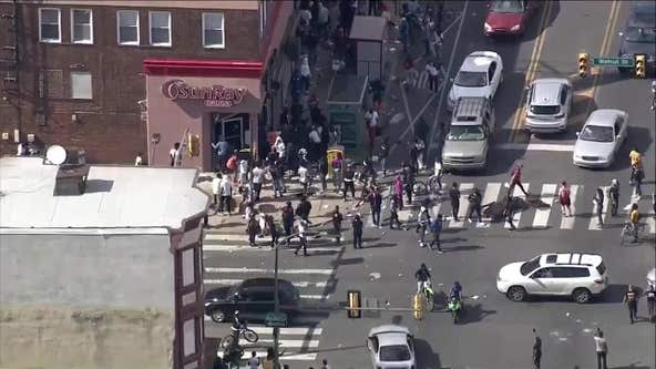 Businesses looted in Philadelphia amid citywide riots