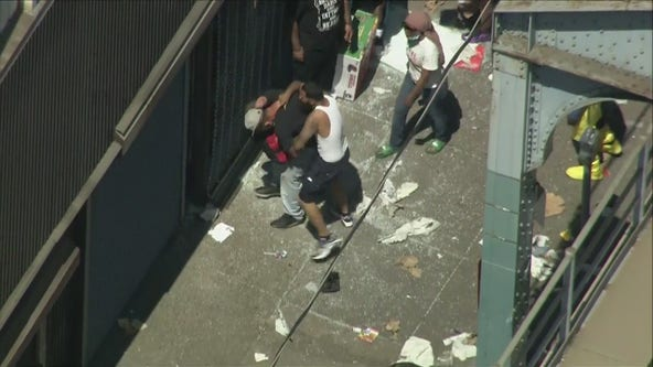 Looting spreads to Kensington, Port Richmond