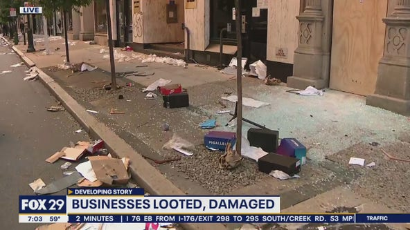 Stretches of blocks destroyed in aftermath of Center City riots