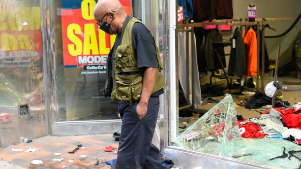 Philadelphia businesses ordered to close Sunday as protest, looting continues