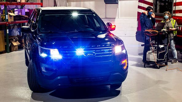 Ford's cop cars can now kill coronavirus with extreme heat