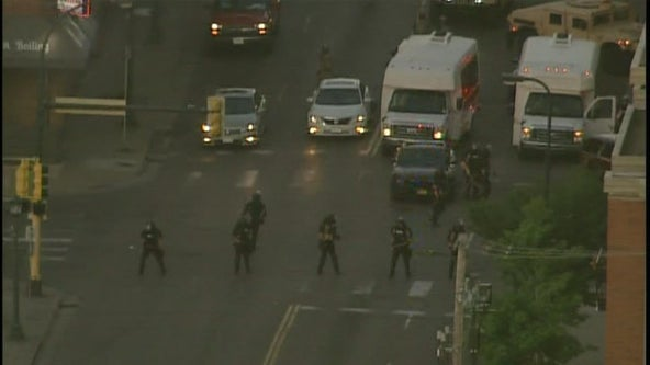 Dozens of people arrested as National Guard moves in to bring control to Twin Cities
