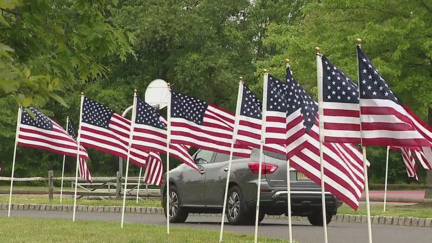 Memorial Day tributes in Burlington County held amid COVID-19 pandemic