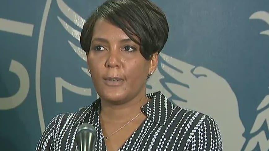'Go home': Atlanta mayor delivers impassioned plea for violent demonstrations to end