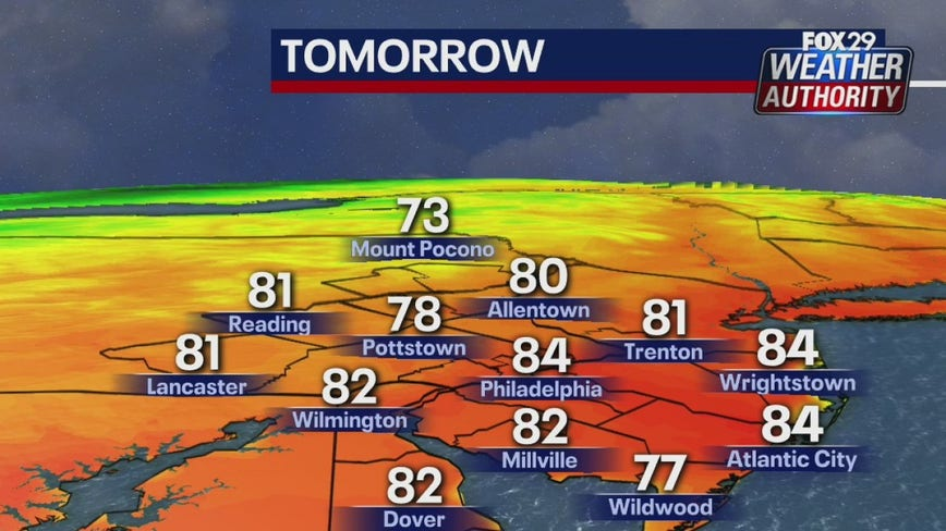 Weather Authority: Pleasant Saturday with warm temps ahead