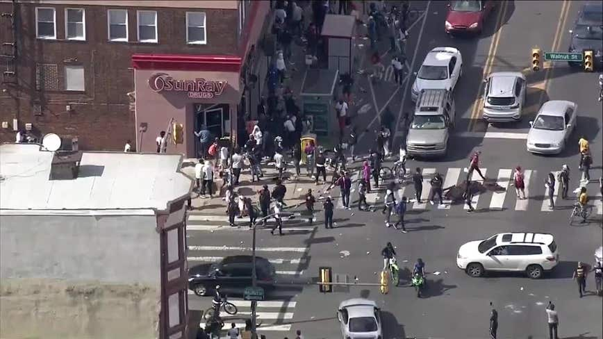 Several businesses looted in Philadelphia as citywide unrest continues