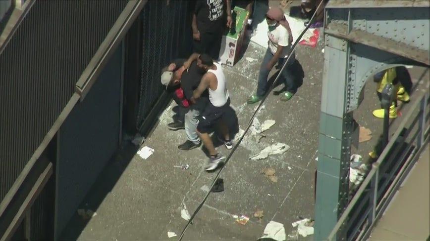 Looting spreads to Kensington, Port Richmond