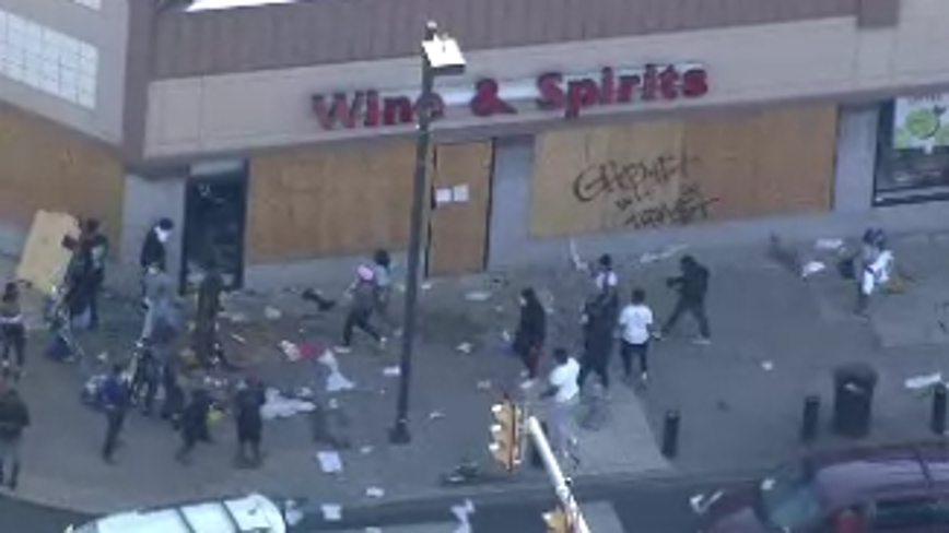 Upper Darby under curfew after looting, riots