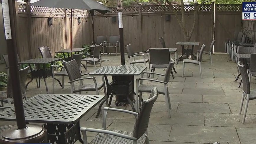 Outdoor dining allowed in Pennsylvania yellow phase counties starting June 5; professional sports to resume