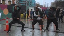 New Zealanders perform powerful Haka dance in solidarity with George Floyd protests