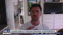 Diff Eyewear co-creator creates eyewear to help give back to charity
