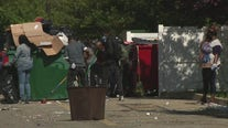 Community cleanup begins in West Philadelphia after weekend unrest