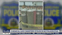 Chemical gas canisters stolen in Northeast Philadelphia