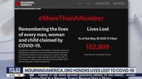 Non-profit creates website to commemorate COVID-19 victims