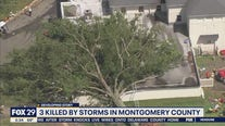 3 killed by storms in Montgomery County