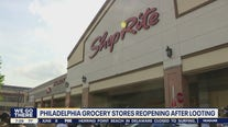 2 Philadelphia grocery stores reopen after looting