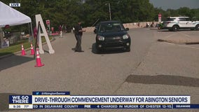 Abington Senior High School hosts drive-through commencement