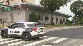 Police investigating double shooting outside Lower Merion radio station