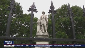 Questions being raised about Christopher Columbus following unrest