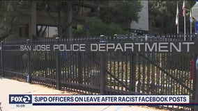 Four San Jose police officers placed on leave during investigation into racist Facebook posts