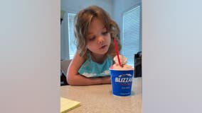 Georgia mom catches daughter being adorable during 'Toddler challenge'