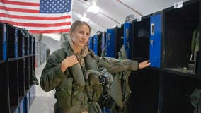 US Air Force pilot call sign 'Banzai' becomes first woman to fly F-35A stealth fighter into combat