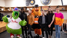 Gritty gets 'Queer Eye' makeover on Netflix special