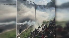Protesters speak out after police used tear gas, pepper spray during I-676 protest