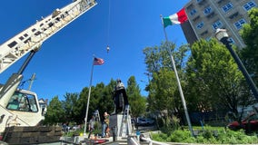 Wilmington removes statues of Columbus, Caesar Rodney pending 'discussion'