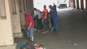 Kensington community members clean up after protests, looting