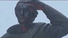 Christopher Columbus statue in Trenton to be relocated following second instance of vandalism this year